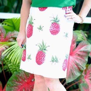 Talbots Pineapple Skirt Size 12